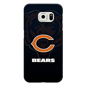 Michael Kruse(TM) Samsung Galaxy S6 Edge Case Anchor NFL Chicago Bears Football Team Logo Sports Design Hard Custom New Protective Rugged Protection Accessories Case Cover for Men
