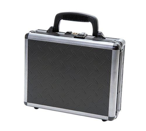 T.Z. Case International Ironite Single Pistol Case, Black, - Pistol Case Aluminum