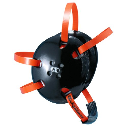 Cliff Keen Two-Tone Signature Wrestling Headgear - COLOR: Black/Orange