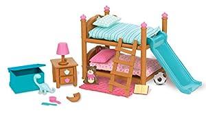 Amazon.com: Li\'l Woodzeez Bunk Bed Bedroom Set: Toys & Games