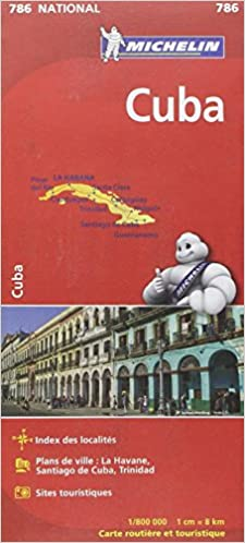 Amazon.fr   Carte Cuba Michelin   Collectif MICHELIN   Livres
