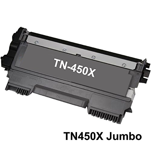 Discount Black Remanufactured High Yield Laser Toner Cartridge compatible with Brother TN450 free shipping