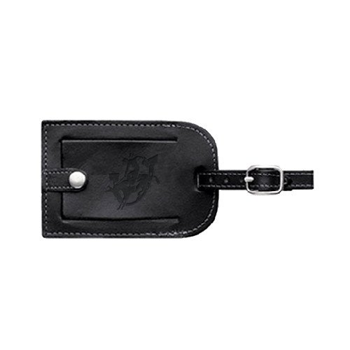 CollegeFanGear Southern Arkansas Millennium Leather Luggage Tag 'Official Logo Engraved' by CollegeFanGear