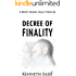 Legal Thriller: Decree of Finality, a Courtroom Drama (Brent Marks Legal Thrillers Series Book 8)