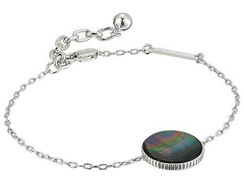 Marc Jacobs Women's Medallion Chain Bracelet Silver One Size