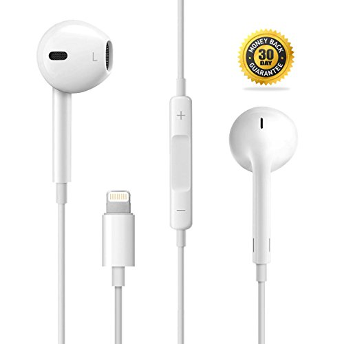 7 Earbuds /    7 Headphones to Lightning Jack with Remote Control and MIC Lightning Headphones for    7 Plus,    7,    6s Plus,    6s,    6 Plus,    6,    5s