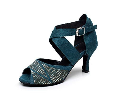 Minitoo - Chaussures De Danse Pour Vert Femme Vert sY1b1