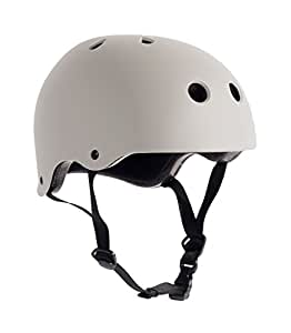 Critical Cycles Classic Commuter Bike and Skate Helmet, Large/X-Large, Matte Paloma Gray