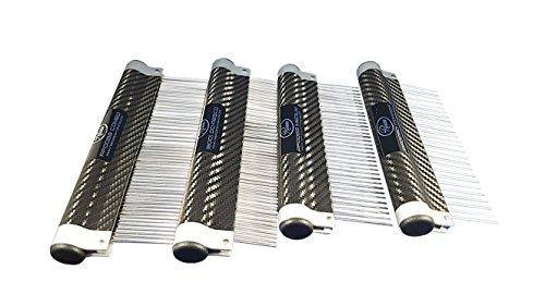 Resco USA-Made Wrap Comb for Pets, Medium, Carbon Fiber by Resco (Image #3)