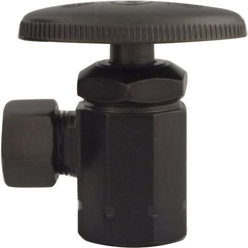Monogram Brass MBX139014 Oil Rubbed Bronze Decorative Standard Water Supply Angle Stop