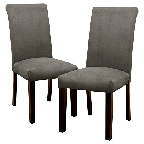 Skyline Dining Chair: Avington Velvet Dining Chair - Gray (Set of 2) 15936293 (Skyline Dining)