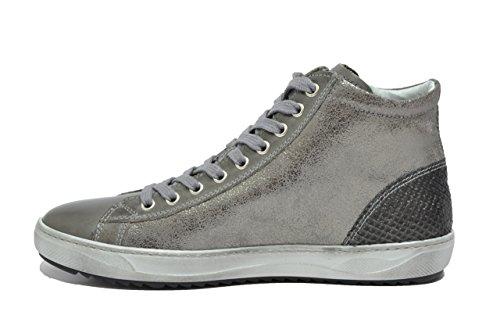 Nero femme Baskets gris pour gris Giardini TwTqOrY