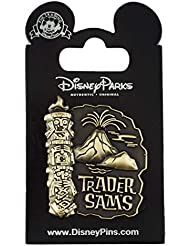 WDW Trading Pin - Trader Sam's - Tiki with Volcano