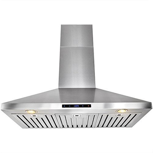 FIREBIRD 36 Powerful Stainless Steel Wall Mount Kitchen Cooking Fan Range Hood Touch Control Panel FB-RH0197