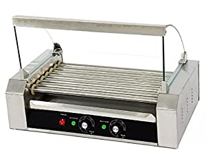 Amazon Com Portable 18 Hot Dog 7 Roller Grilling Machine