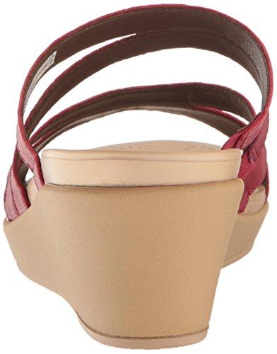 Mini Lthr Wedge Leighann Crocs Pepper Women's Sandal HSn1gg