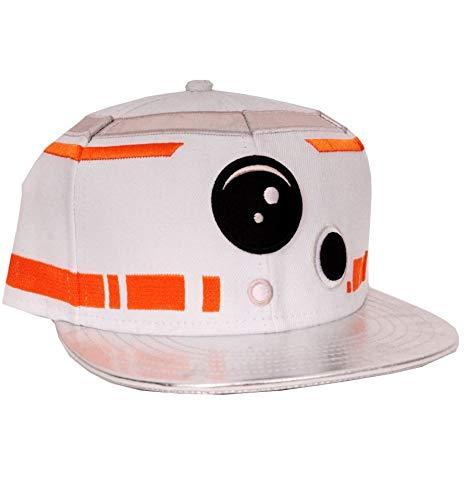 Star Wars VII The Force Awakens BB-8 Snapback Cap]()
