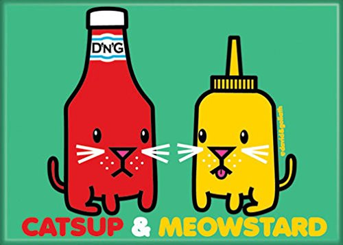 Ata-Boy David and Goliath Catsup and Meowstard 3.5
