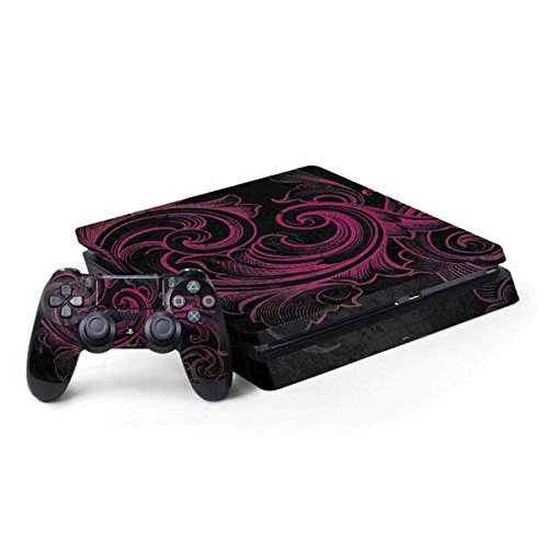 Patterns PS4 Slim Bundle Skin - Pink Flourish