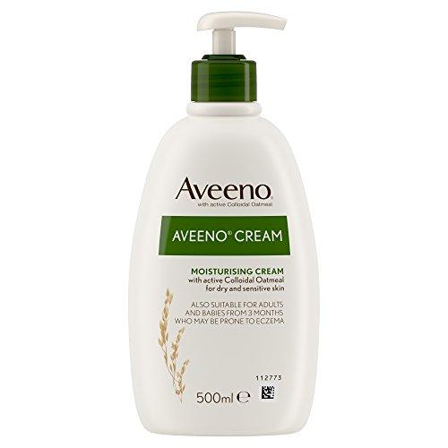 Aveeno Moisturising Cream 500ml Babys Soothing Moisturising Cream