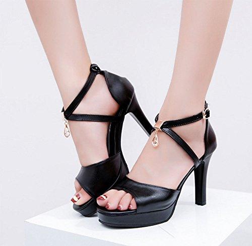 Sandali 2 per con KUKI strass donna 4nqwUCx6F