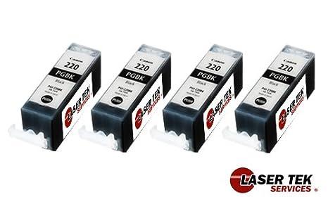 Amazon.com: Laser Tek servicios® Reemplazo Canon PGI-220 y ...