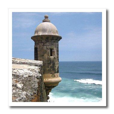 (3dRose ht_72245_1 Puerto Rico, San Juan, Fort San Felipe Del Morro Miva Stock Iron on Heat Transfer Paper for White Material, 8 by 8-Inch)