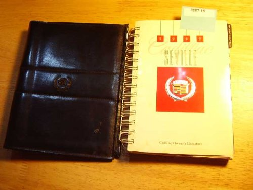 1992 Cadillac Seville Owners Manual