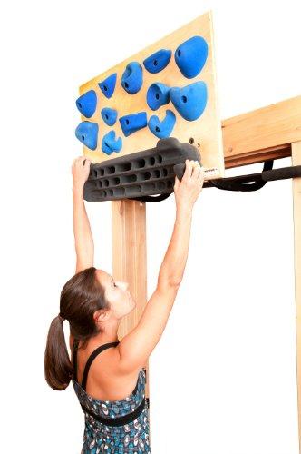 Blank Slate Climbing Trainer (Light Stain, Vertical), Outdoor Stuffs
