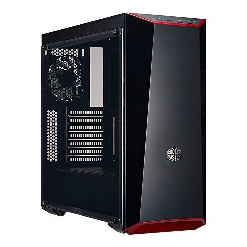 Atx Intel Graphics (Cooler Master MCW-L5S3-KANN-01 MasterBox Lite 5 ATX Mid-Tower Case with Dark Mirror Front Panel, Acrylic side panel, Customizable trim colors)