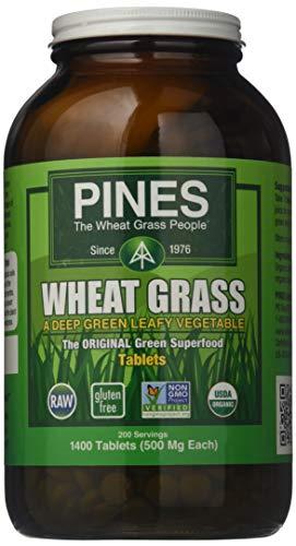 (Pines International Wheat Grass - 500 mg - 1400 Tablets)