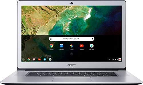 2019 Flagship Acer Chromebook15 15.6' Full HD IPSTouchscreen Laptop, Intel Pentium Quad-Core N4200 4GB DDR4 32GB eMMC SSD 802.11ac Chrome OS