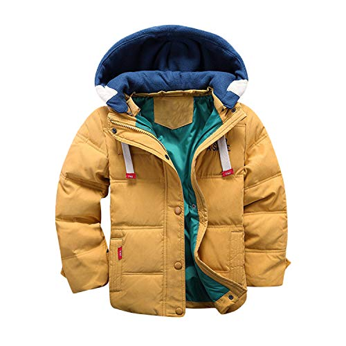 Evelin LEE Baby Boys Puffer Hooded Outwear Winter Warm Jacket Coat Thick Cloak Clothes