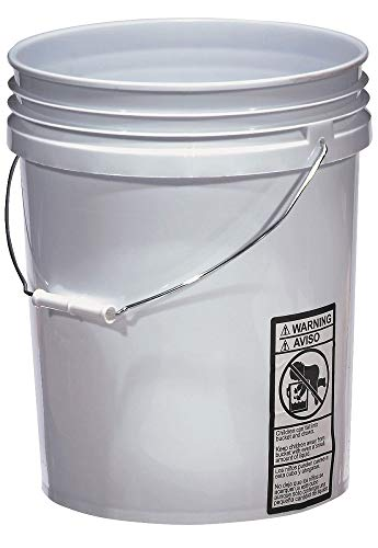 Warner 5-Gallon Plastic Bucket, 543