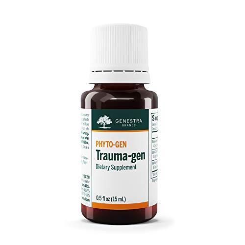 Genestra Brands - Trauma-gen - Black Alder, Black Currant, and Hawthorn Herbal Supplement - 0.5 fl oz (15 ml)