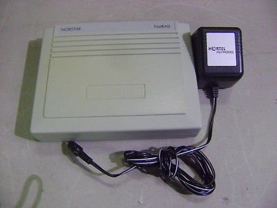 Nortel Norstar Fastrad Remote Access Device Nt8B80Aaab & Ac Power Supply Adapter (Nortel Remote)