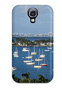 Excellent Galaxy S4 Case Tpu Cover Back Skin Protector Miami City