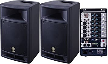 sound system speakers brands. brand new yamaha stagepas 300 portable pa system speakers+mixer sound speakers brands