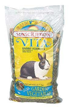 Sun Seed Company SSS13614 6-Pack Vita Mix Daily Diet Rabbit Food, 6-Pound