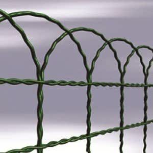6m x 0,4m malla de alambre. Boundry malla. Galvanizado PVC. Enrejado forma. Nuevo. Verde