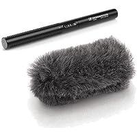 Sennheiser MKE 600 Short Shotgun Microphone w/Sennheiser MZH600 Windshield