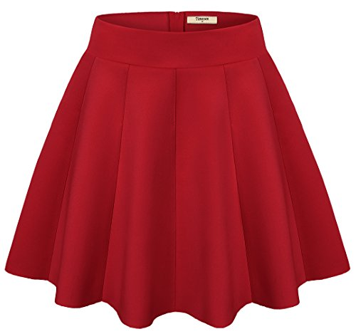 Women Skirts,Timeson Versatile Strentchy Flared A line for sale  Delivered anywhere in USA