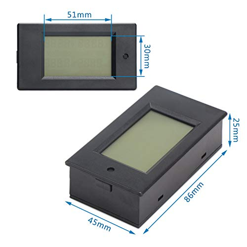 Drok Small Digital Multimeter Dc 6 5 100v 50a Voltage
