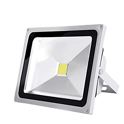 Julitech 10W-200W LED Flood Light, Waterproof IP65, 6500Lm, Super Bright Outdoor LED Flood Lights For Playground, Garage, Garden, Lawn And Yard Model