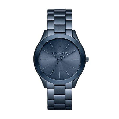 Michael Kors Women's Slim Runway Blue Watch MK3419 by Michael Kors