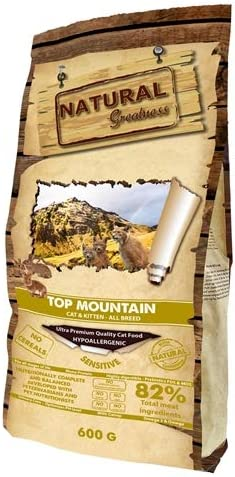 Oferta amazon: Natural Greatness Top Mountain Alimento Seco Completo para Gatos - 2000 gr