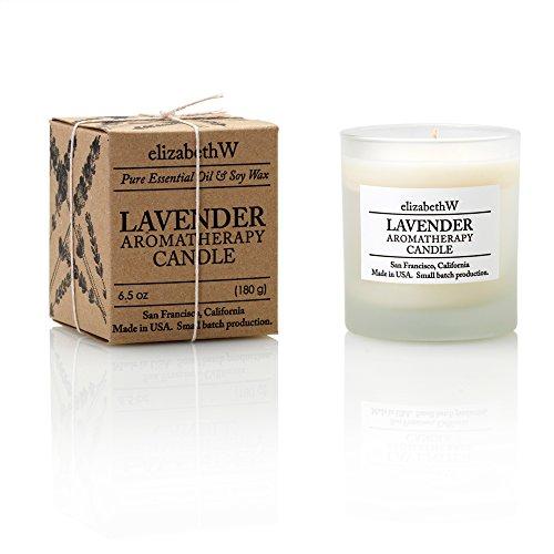 Elizabeth Candle - Elizabeth W Lavender Aromatherapy Candle by Elizabeth W