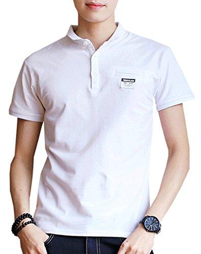 ポロシャツ ゴルフウェア メンズ 半袖 通気性 薄手 吸汗速乾 夏 服 821