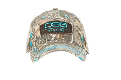 Baseball Outerwear - DSG Outerwear Baseball Hat Realtree Edge Camo (Aqua)