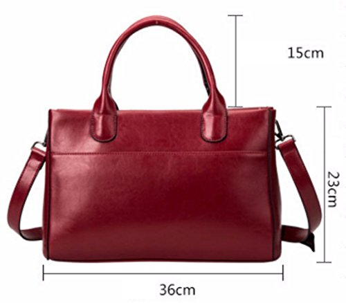 Shopping Leisure Small Bags Square Top Retro Fashion Handle Bags Handbag Red 7TqtwEt6x